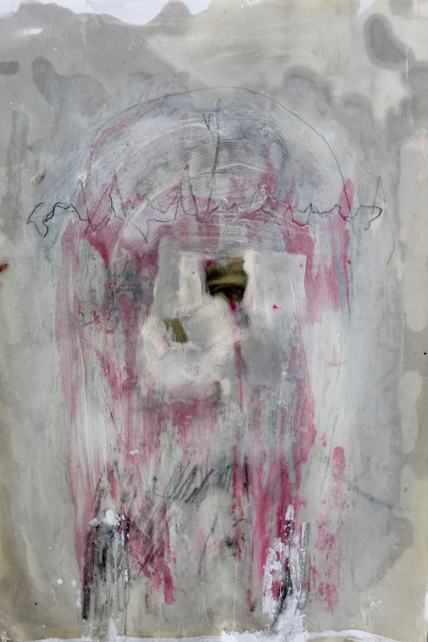 Veronicas veil contemporary drawing painting